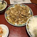121294476 - 豚肉の生姜焼き定食