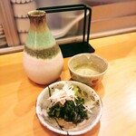 蕎麦 松風 - 料理写真:花巴正宗純米750円!