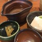蕎麦切り よしむら - 梅乃宿 紅梅 1合 (750円)