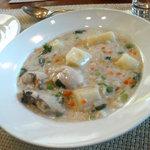 レスパス - 牡蠣のチャウダー