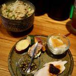 Tonerico - 季節の炊き込みごはんSET 1360円(税別)