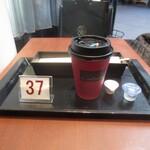 121301369 - コーヒーと番号、私の少年野球の背番号です(こんな、個人的なこと、どうでもいいですよね)。色調はラトリエドロブションと同じですね。