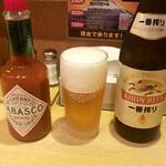 ロメスパ バルボア - 一番搾り中瓶:500円