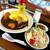 山香食堂 - 料理写真:富良野オムカレー