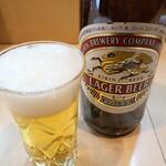 121304972 - 瓶ビール(キリンラガービール)