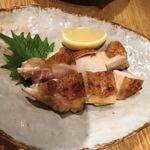 121312209 - 京赤鶏のもも焼き^^シンプルis best❣️