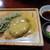 まきいし - 陶板焼きハンバーグだけ(単品)750円