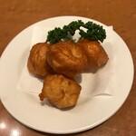121314953 - フエキワン:イカ団子、鶏唐と味がそっくり