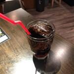 原価ビストロBAN! - セットのコカコーラ