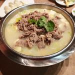 宏福楼 - ラム肉と白菜の煮込みスープ