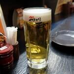 やきとり正や - 生ビール