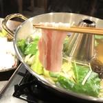琉球ムーガタ鍋 - あぐーのしゃぶしゃぶ」
