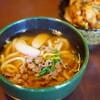 讃岐うどん こんぴら - 料理写真:肉うどん (¥830)、ミニ丼セット (¥340)