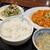 中国料理 揚州厨房 - 850円セット(鶏肉と玉子チリソース炒め)