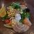 トラットリア・築地パラディーゾ - 季節の野菜サラダ