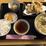 ガーラ - 魚天ぷら定食