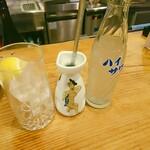 鳥芳 - レモンサワー