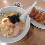 元祖 札幌や - 塩ラーメンと餃子