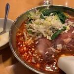 杜記 海鮮火鍋菜館 - 四川チャーシュー麺(刀削麺)