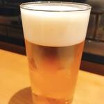 Gyouzatonikomisakanayasushishin - 生ビール