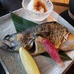 黒十 - 鯖干しの炙り焼き(ハーフ)