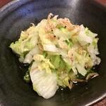 ジャム cafe 可鈴 - 【週替わりランチ(1,050円)】白菜のコールスロー