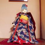 カフェ ゆるり - 飾られていた球体関節人形