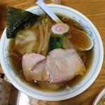 麺屋 正遊 - ワンタン麺 860円