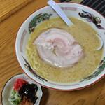 麺屋 正遊 - とんこつしょうゆラーメン 770円
