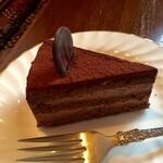 珈琲専門店 風見鶏 - チョコレートケーキ