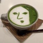 よーじやカフェ - よーじや抹茶カプチーノ@690円