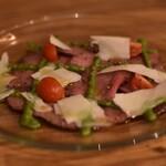 肉バル×チーズ 高安 - 牛タンのカルパッチョ