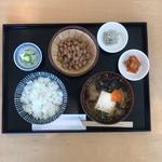 納豆スタンド 令和納豆 - 梅セット
