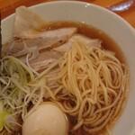 田中製麺 - 麺はこんな感じ