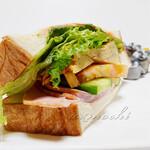 ゲズンタイト - 料理写真:モルゲンサンド
