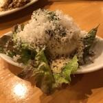 YAICHIRO - ウフマヨ(半熟卵の自家製マヨネーズ)(280円)