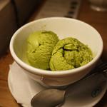 モーツアルト - 抹茶アイス