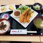 海鮮丼ぶり 海幸 - 料理写真:海老フライ定食 1000円