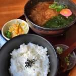 蔵乃麺 - 日替(花がつおろし)750円