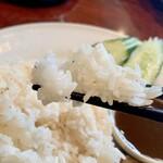 Asian Kitchen Sapana - ご飯はこんな感じ