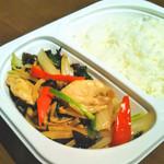 プラウチャイ - 鶏肉と生姜のオイスターソース炒め ウーバーイーツ(宅配版)