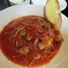 清茶館 セピアの森で - 料理写真:魚介のトマトソースパスタ
