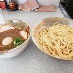 麺屋白頭鷲 - 特製つけ麺  大盛り