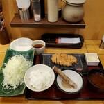 新宿さぼてん - ランチ・熟成三元麦豚ロースかつ御膳(95g)