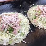 蓮 - 料理写真:かしみん焼