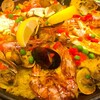 Erupesukadoru - 料理写真:魚介類のパエージャ
