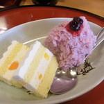兄弟すし - ランチのデザート