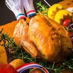 トレシェーナ - 料理写真:12月21~25日限定メニュー シェフがカービングサービスにてご提供いたします(ランチ)ローストチキン (ディナー)ターキー 登場!