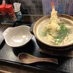 饂飩工房 うばら - 鍋焼きうどん 1100円