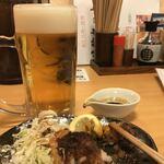 産直仕入れの北海道定食屋 北海堂 - おかわりビール